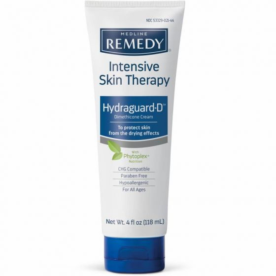 Remedy Intensive Skin Therapy Hydraguard-D Barrier Cream, 4oz MSC092564H by Medline