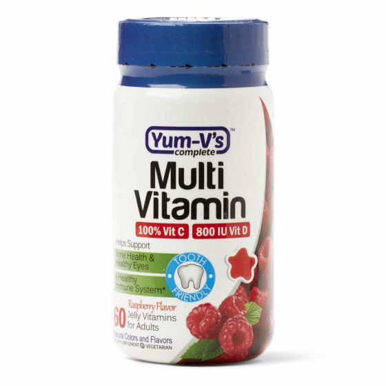 Yum-V's Adult Gummy Multivitamins 60 Count OTC001766 by Geri-care Pharmaceuticals