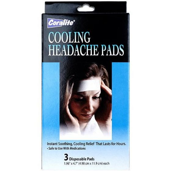 Cooling Migraine Headache Pads 3 Count OTC901168 by Medline