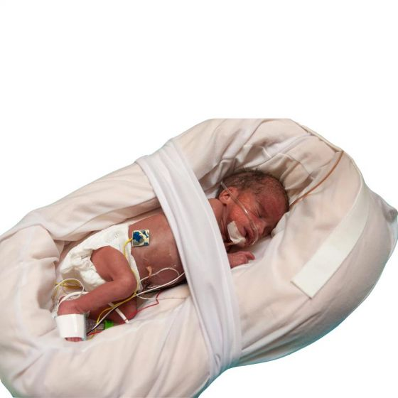 Z-Flo Neonatal Full-Body Positioner with Cover, Large ALA1400200H by Z-Flo