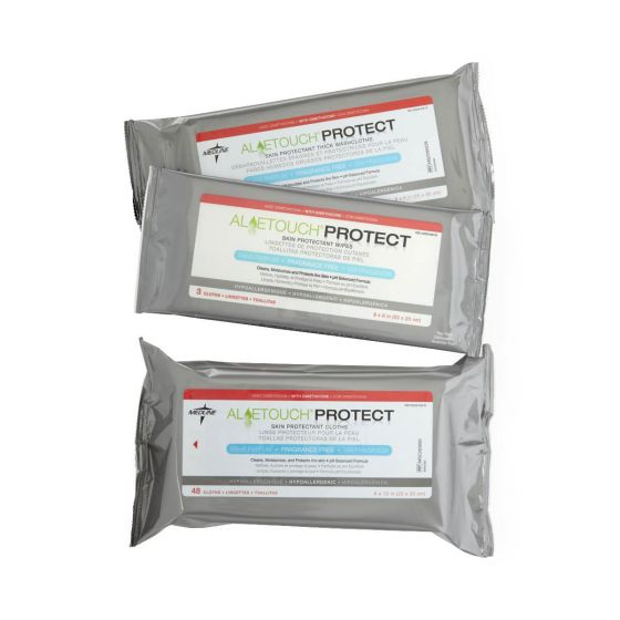 Aloetouch PROTECT Dimethicone Skin Protectant Wipes PF66411 by Medline