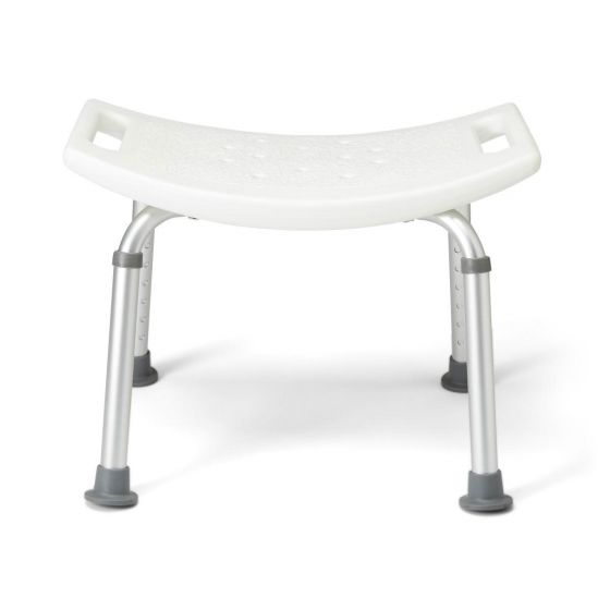 Aluminum Bath Benches without Back MDS89740A by Medline
