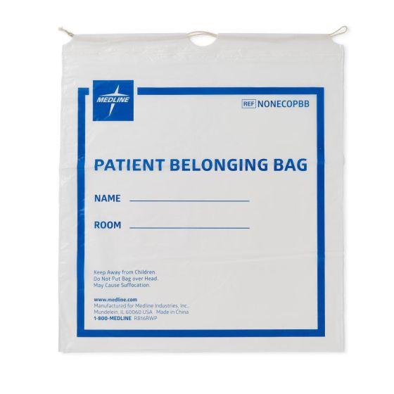 Compostable Patient Belonging Bags