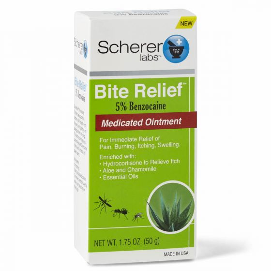 Scherer Labs Bite Relief Medicated Ointment, 1.75oz