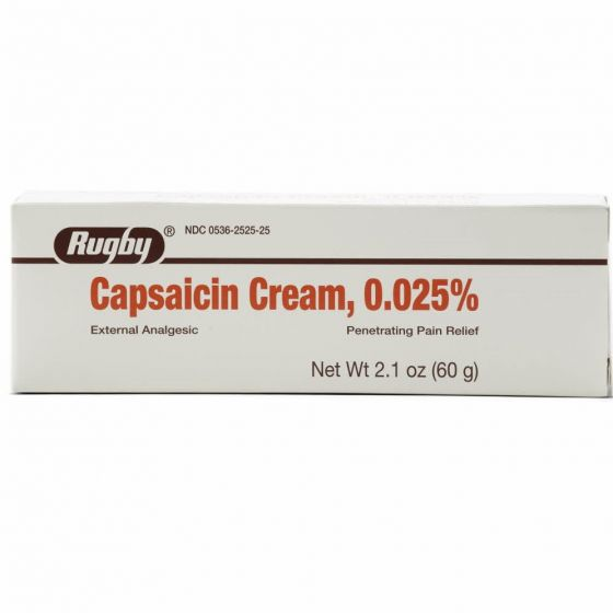 Capsaicin Analgesic Pain Relief Cream OTC252525 by Medline