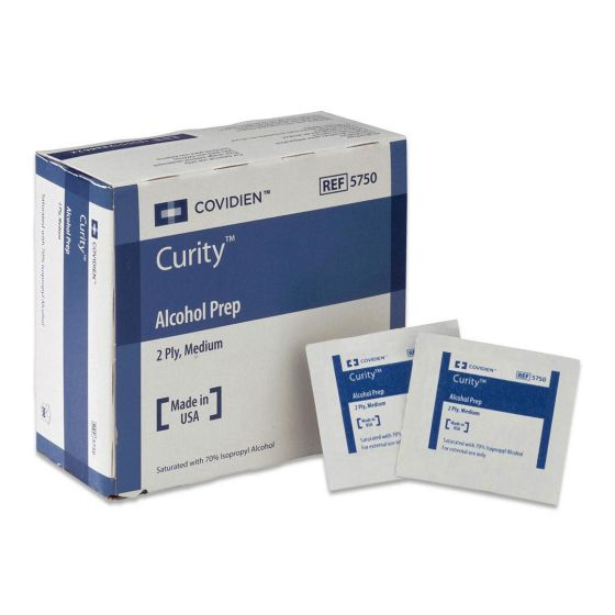 CURITY Alcohol Prep Pad by Covidien KDL5750 by Cardinal Health