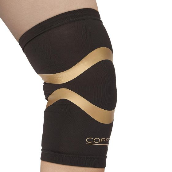 Copper Fit Knee Compression Sleeve w Kinesiology XL 1Ct CFPROKNXL6 by Cooper Fit