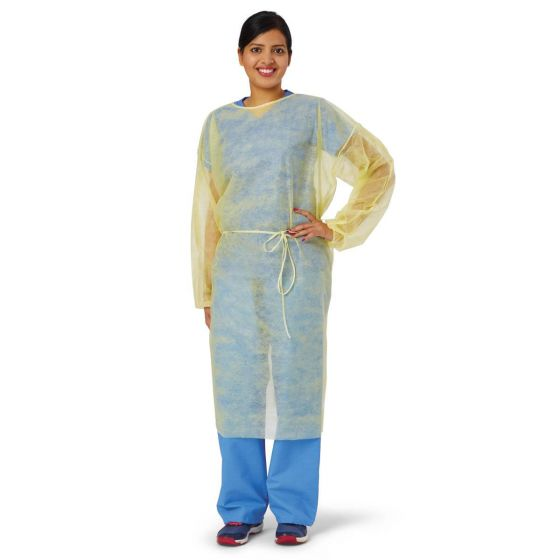 Classic Cover Lightweight Polypropylene Isolation Gown PF02343 by Medline