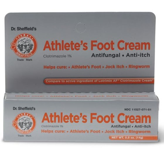 Dr. Sheffield's Antifungal Athlete's Foot Cream OTC033506 by Medline
