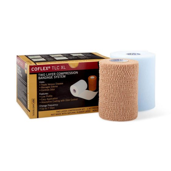 CoFlex TLC XL Two-Layer Compression System 1Ct AND7800XLH by Medline