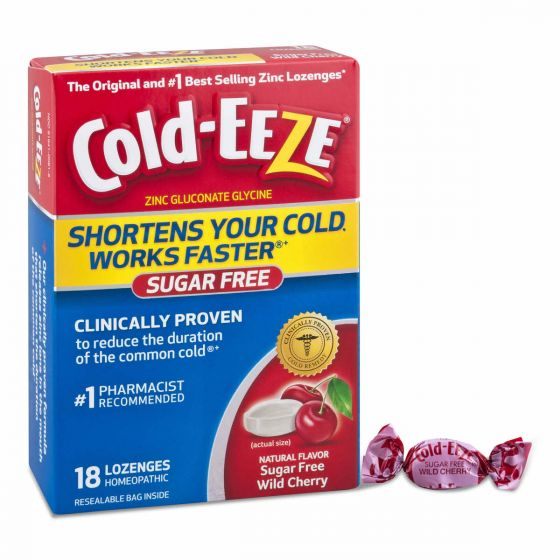 Cold-Eeze Homeopathic Cold Relief Lozenges