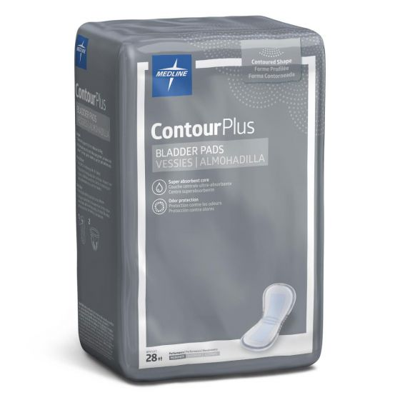 Medline ContourPlus Bladder Control Pads