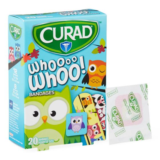 CURAD Owl Bandage Assorted Sizes - Shop All PF189972 by Medline