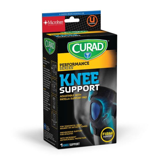 CURAD Performance Knee Support Patella Pad Microban 1Ct CUR23330DH by Medline