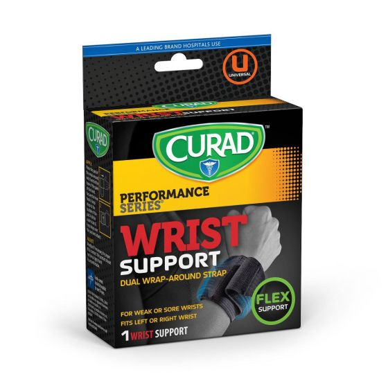 CURAD Performance Wrist Support with Wraparound Straps CUR19200DH by Medline