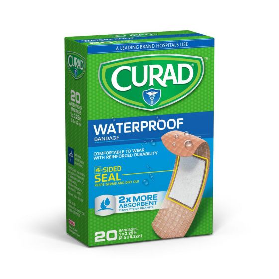 CURAD Extra Strength Waterproof Bandages
