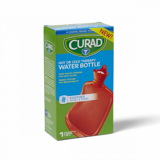 CURAD Hot or Cold Therapy Water Bottle 4Ct CUR964 by Medline