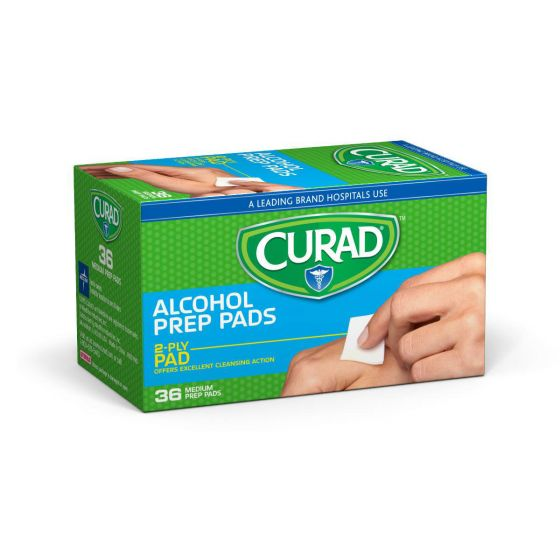 CURAD Alcohol Prep Pads 1080Ct CUR09073736R by Medline