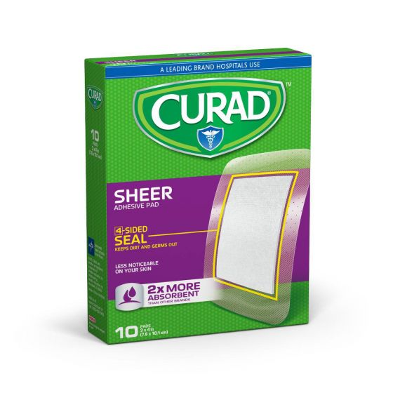 CURAD Sheer Adhesive Bandages