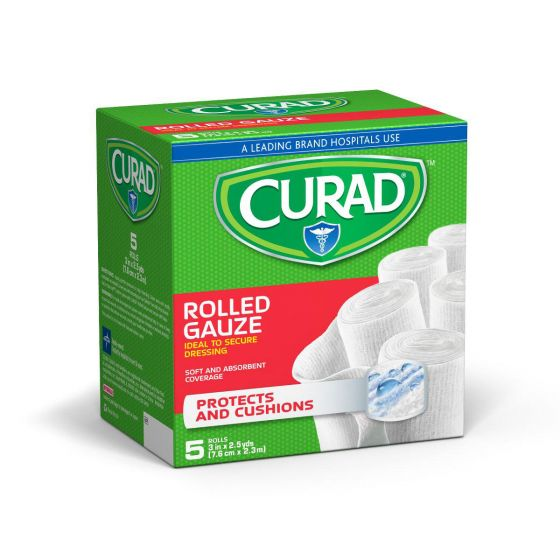 CURAD Prosorb Rolled Gauze 4x2.5 120Ct CUR47316RB by Medline