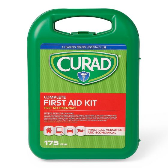 CURAD 175-Piece Complete First Aid Kit 1Ct CURFAK300RV1H by CURAD