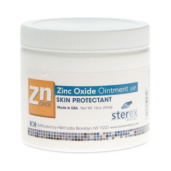 Zinc Oxide Skin Protectant Ointment, 16oz DAY006216H by Sterex Medical, LLC