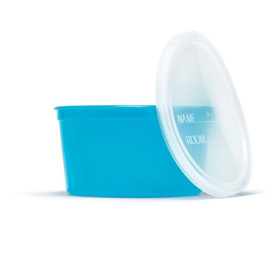 Medline Denture Container with Lid