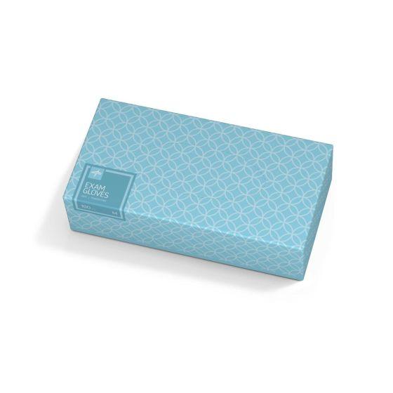 Designer Boxed Vinyl Exam Gloves HOME401H by Medline