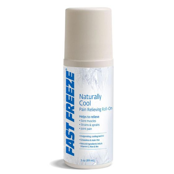 Fast Freeze Cold Therapy Pain Relief Gel, 3oz