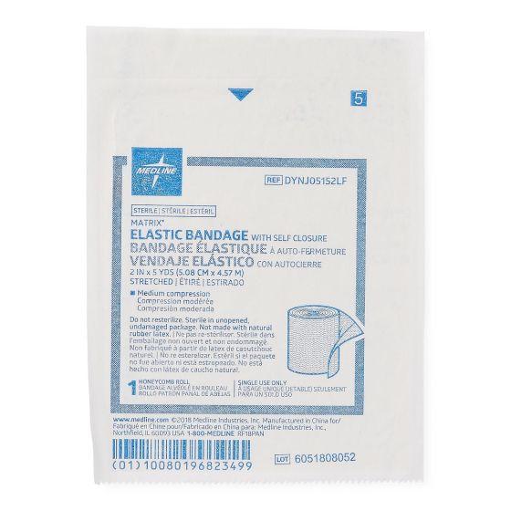 """Medline Sterile Matrix Elastic Bandages 2"""" x 5yd 1 Ct"""