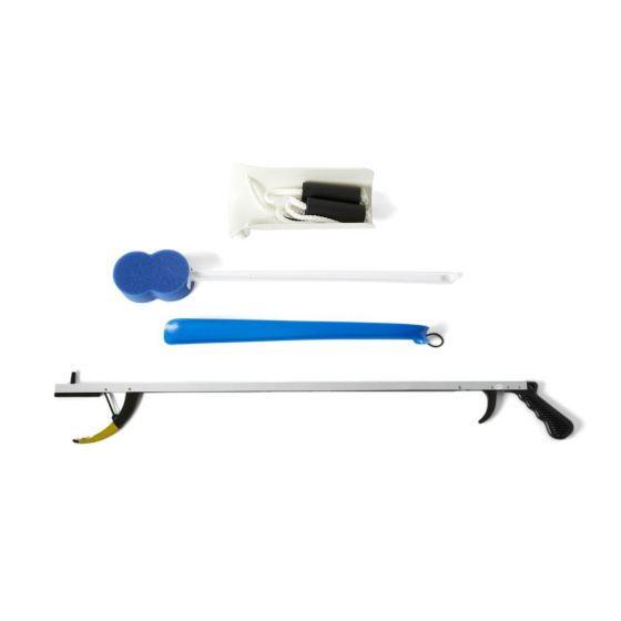 Medline 4-Piece Economy Hip Kit with 32in Reacher MDSR020228 by Medline