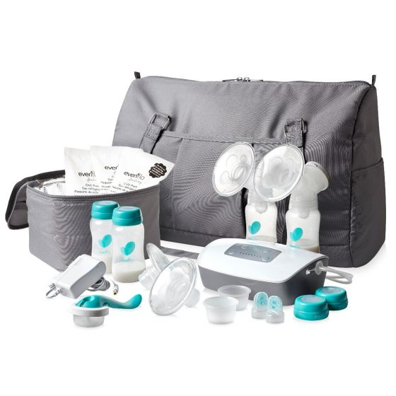 Evenflo Select Advanced double Electric Breast Pump EFI5165113H by Evenflo Company, Inc.