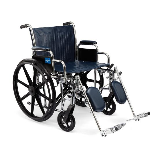 Extra-Wide Wheelchairs MDS806850 by Medline