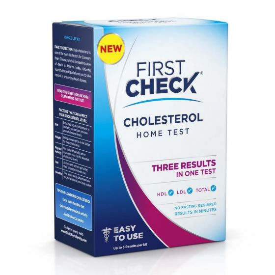 First Check Home Cholesterol Test FCD970103 by Medline