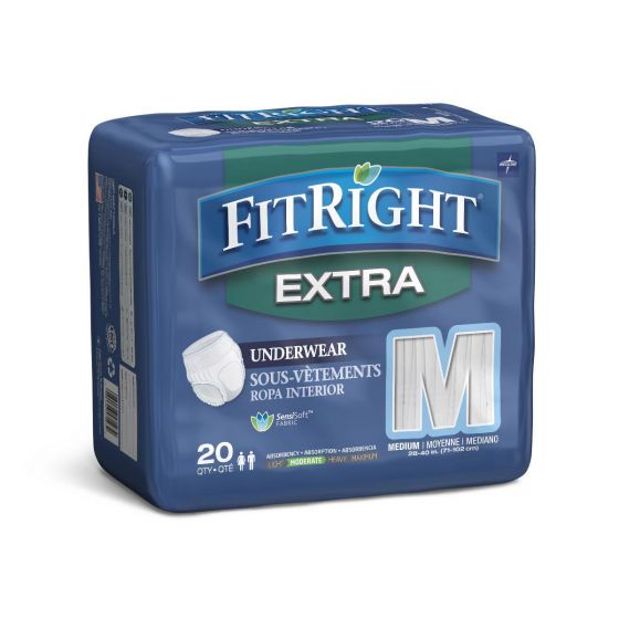 Medline FitRight Extra Adult Incontinence Underwear MSC13005A by Medline