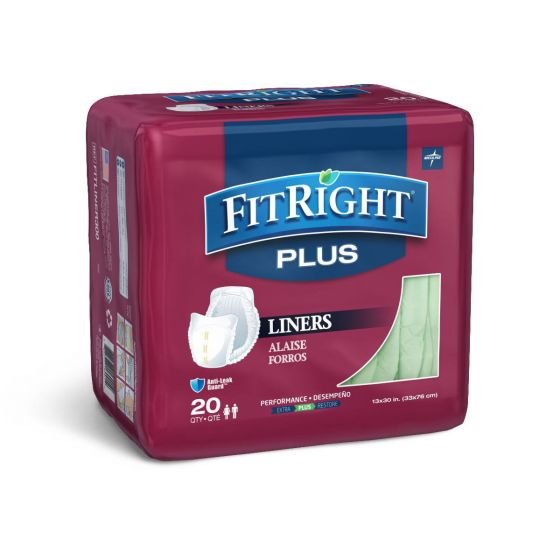 Medline FitRight Incontinence Liners - Shop All PF81635 by Medline