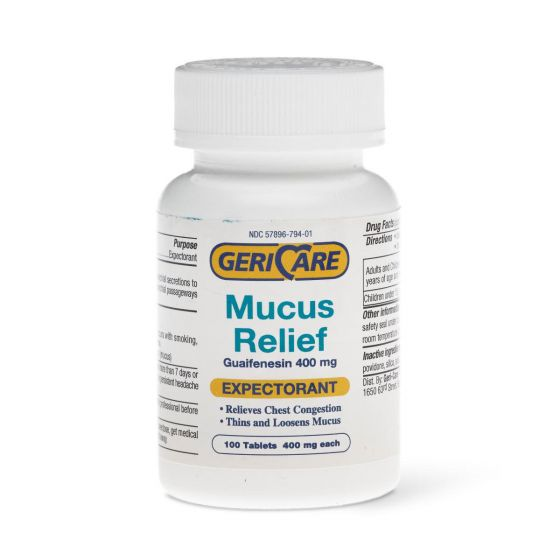 Guaifenesin Mucus Relief Tablets