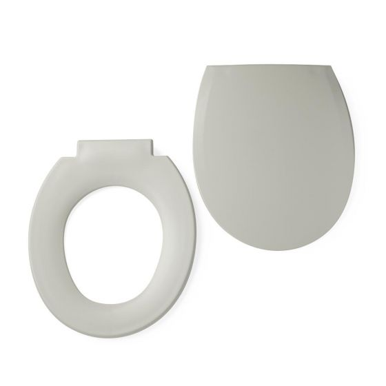 Replacement Seat and Lid Medline Guardian Commode  1Ct G222-0843 by Medline