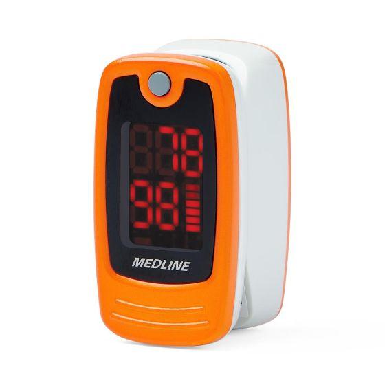 Soft Touch Fingertip Pulse Oximeter, Digital Display, Adult HCSM70R by Medline