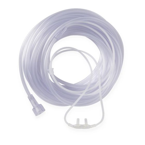 SuperSoft Oxygen Cannula 25ft Tubing Univ Connect 25Ct HCSU4515S by Medline