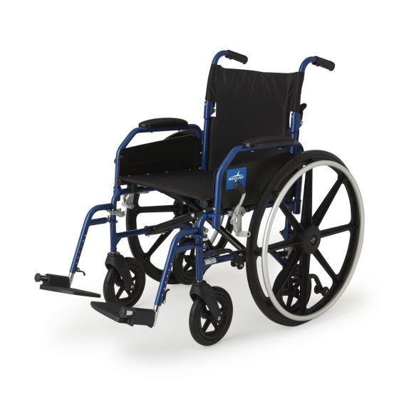 Hybrid 2 Transport Wheelchair Chairs MDS806250NH2 by Medline