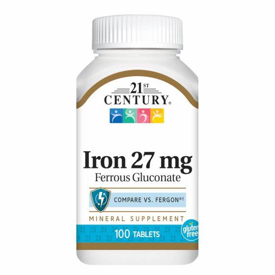 21st Century Iron 27mg Ferrous Gluconate OTC279786 by Medline