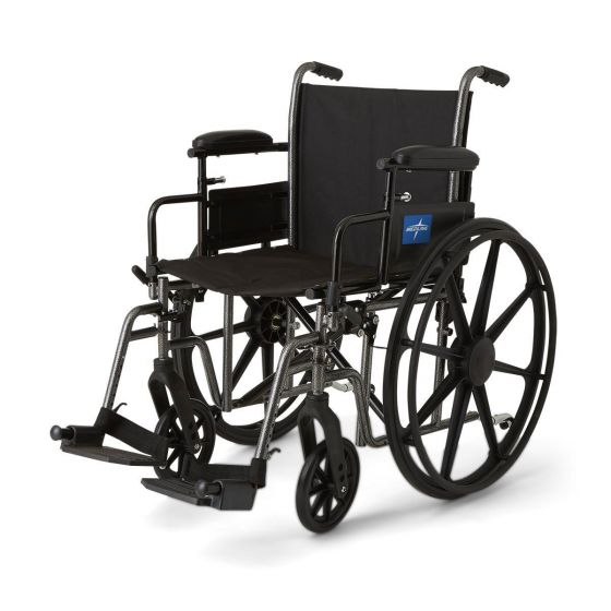 K3 Plus Wheelchair With Swing-Away Footrests MDS806600EPL by Medline