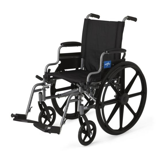 K4 Extra-Wide Lightweight Wheelchairs MDS806560E by Medline