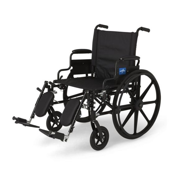 K4 Extra-Wide Lightweight Wheelchairs MDS806575 by Medline