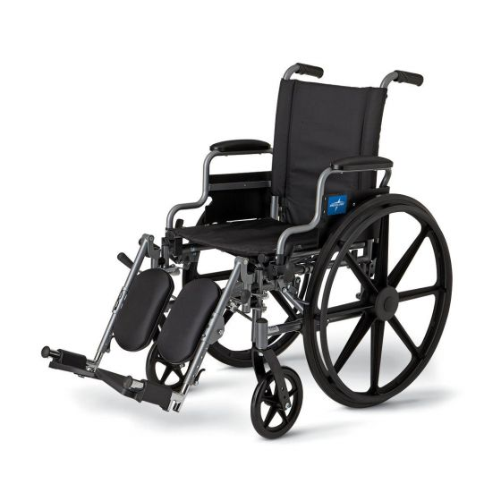 K4 Lightweight Portable Wheelchair MDS806550NE by Medline