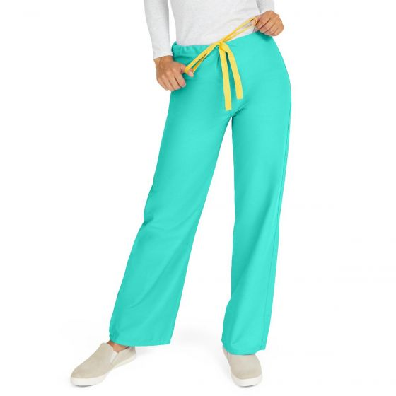 AngelStat Unisex Rev Scrub Pant Jade Angelica M Reg 1Ct M600NTJM-CA by Medline