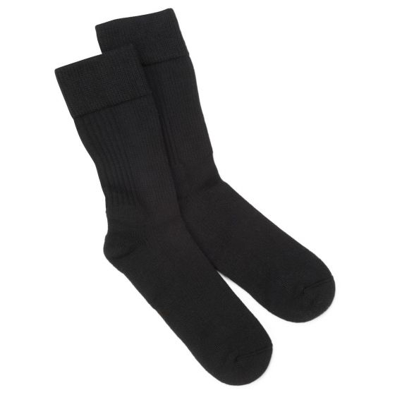 Dr. Scholl's Diabetic and Circulatory Crew Socks with Compression, 8-15 mmHg, Size M MDS1800MB by Medline