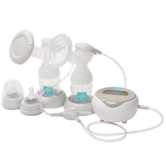 Medline Double Electric Breast Pump Kit, 2 Bottles 3Pc MDS67070 by Medline