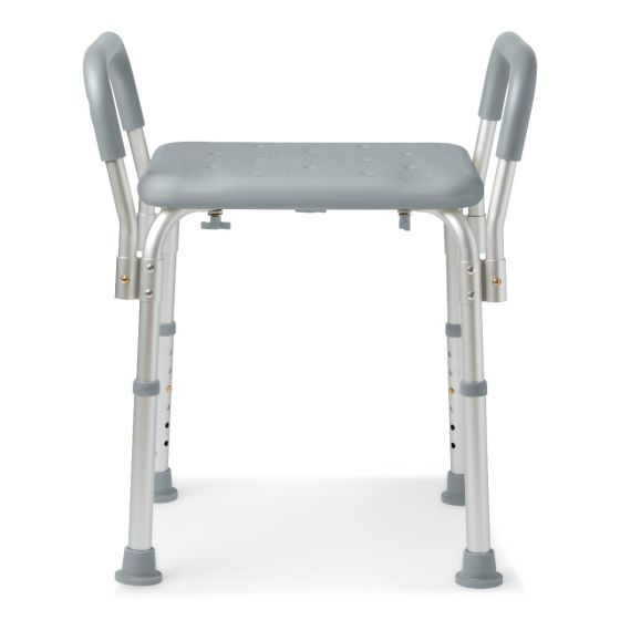 Medline Knockdown Bath Bench with Arms 1Ct MDS89740RWAH by Medline